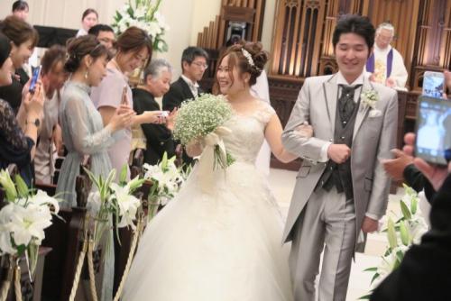 アイルマリー結婚式花嫁