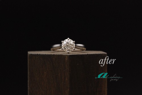婚約指輪の製作を致しました千葉県千葉市から御来店