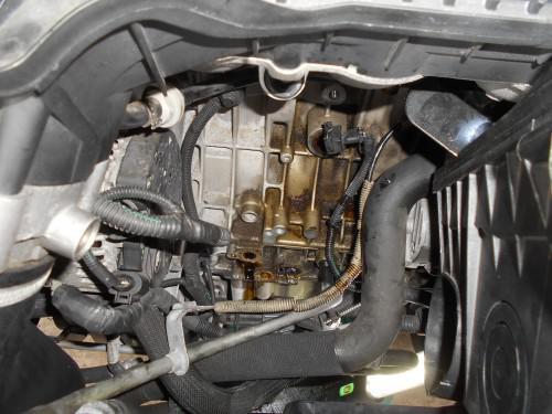 ボルボV50T5エンジンチェックランプ点灯2次空気吸い上げ