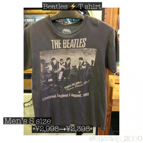 ビートルズのTシャツもセール対象です♫