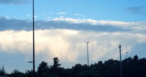 不思議な雲!