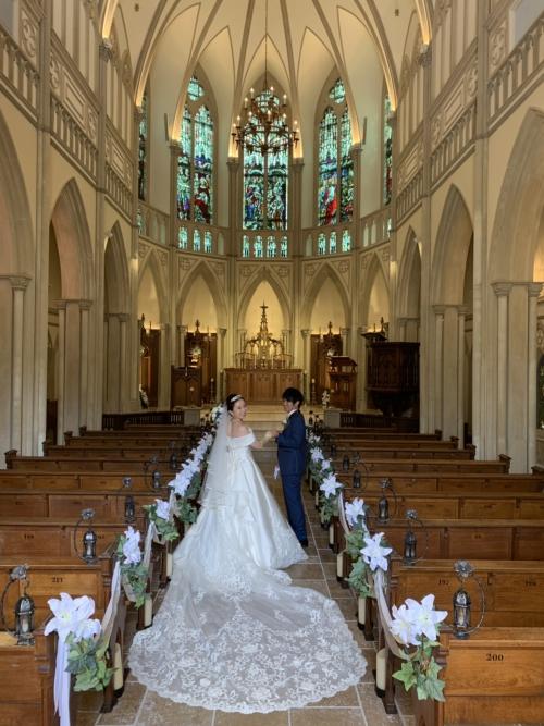 ハートコート♥️結婚式