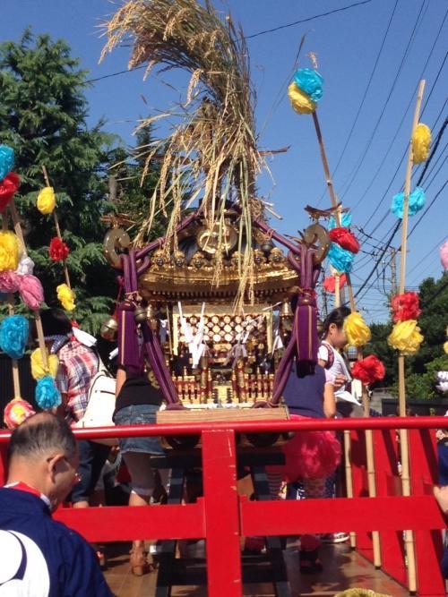 氷川神社お祭