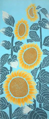 夏の代表的な黄色い花