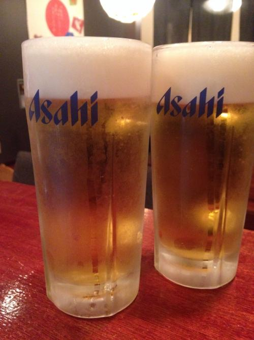 冷たぁ〜い(o^^o)ビール