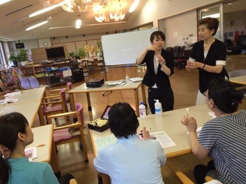熊本県の長寿の里でアロマテラピーのセミナーに行きました