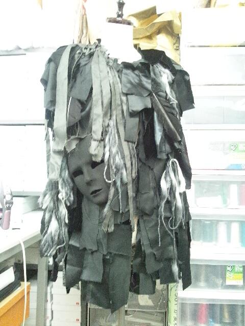 ミュージカル衣装「闇将軍」