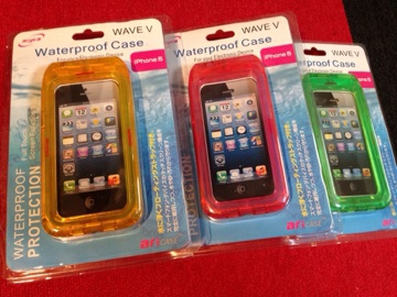 防水 スマートフォンケース iPhone5