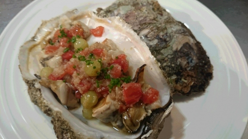 岩牡蠣のソテー
