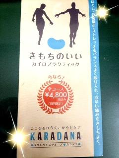 KARADANA様 <カイロプラクティック・下北沢>