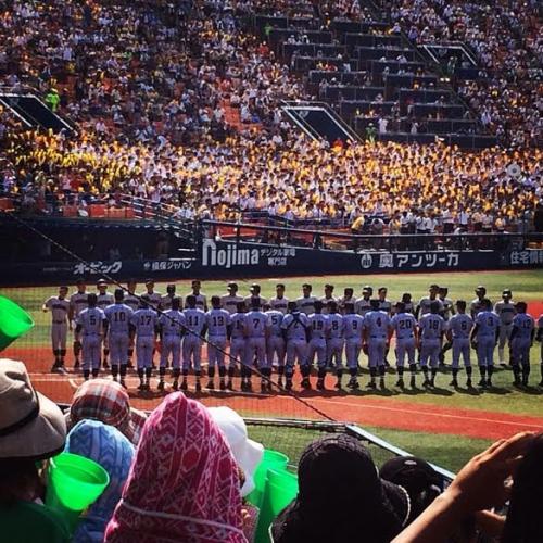 夏は高校野球