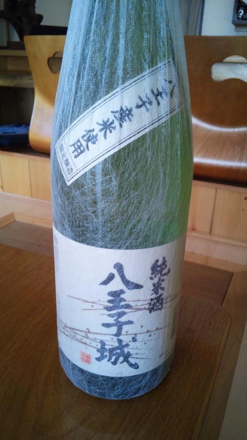 桑の都八王子城!純米酒です。冷や酒でも、熱燗でも美味です!