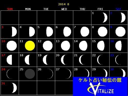 8月の満月占い〜恋!仕事!