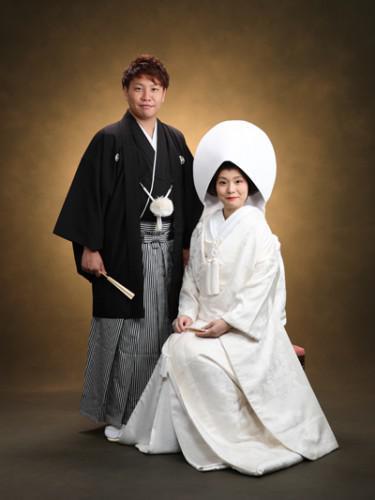 浅草神社さんで挙式、浅草写真館でお支度+写真