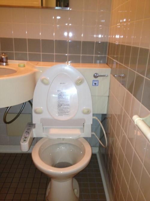 トイレ・洗面・浴室が一緒になってる水回り