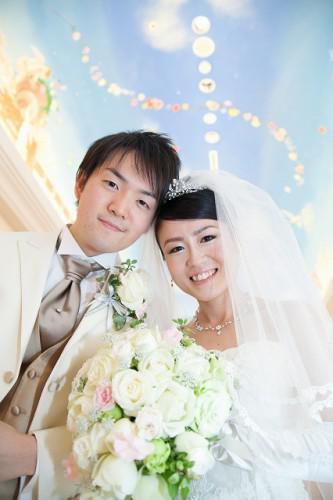 幸せ花嫁さん