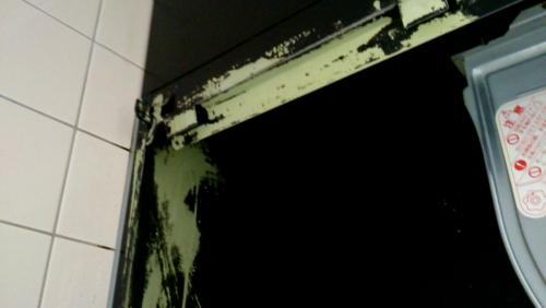 換気扇のお掃除-塗装剥げについて