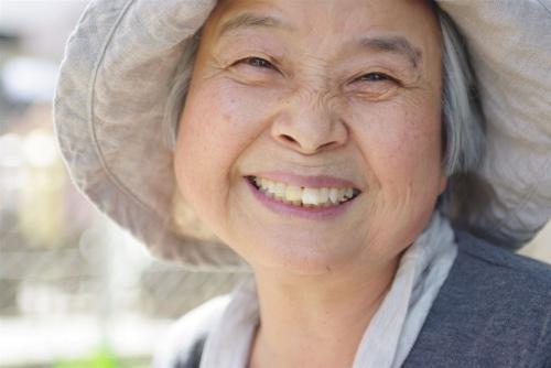自分の笑顔ぐらい自分でなんとかしなさい!。w