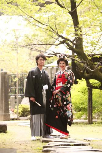 結婚式の和装前撮りは東京の浅草写真館で!