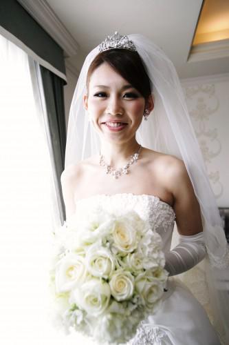 花嫁幸せのリレー