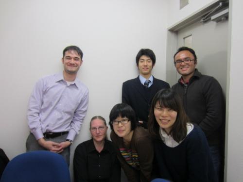講師と生徒様との集合写真