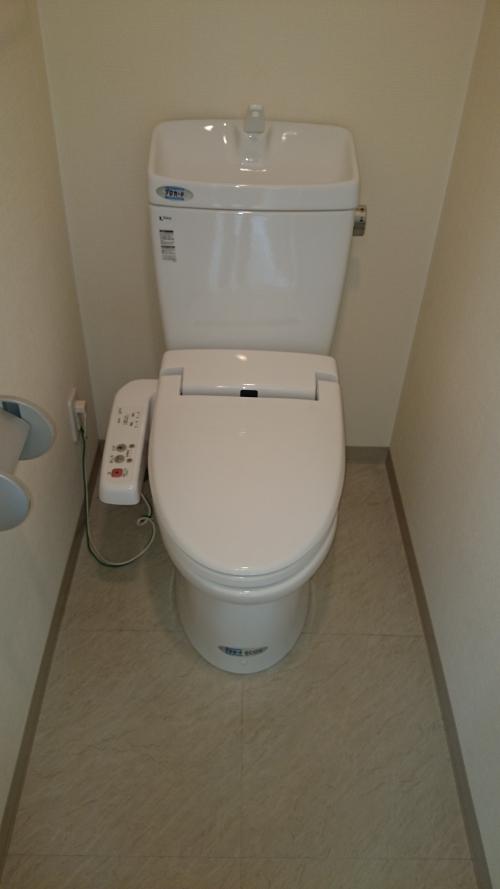 トイレのお掃除出張代行