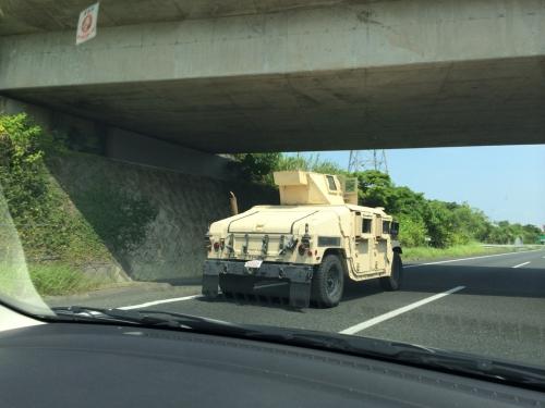 沖縄自動車道で見かけたのは?!