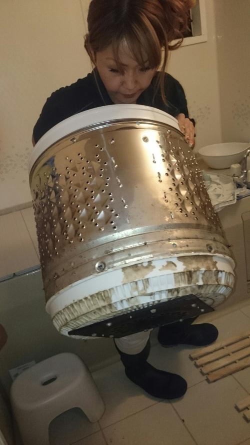 洗濯機ドラムの汚れ