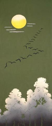 遠い地にある人へ思いをはせる渡り鳥