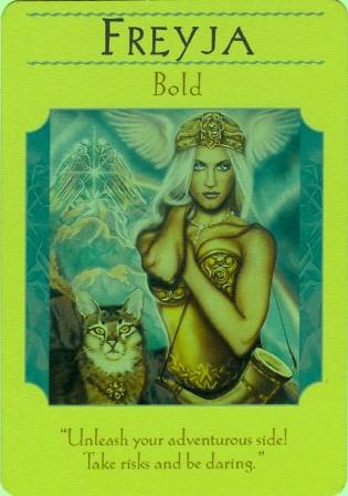 女神フレイア・アチューメント 愛と結婚・性の女神