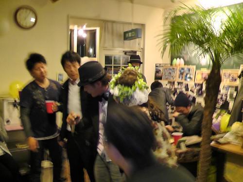 静岡市のカフェメルティングポットのパーティー