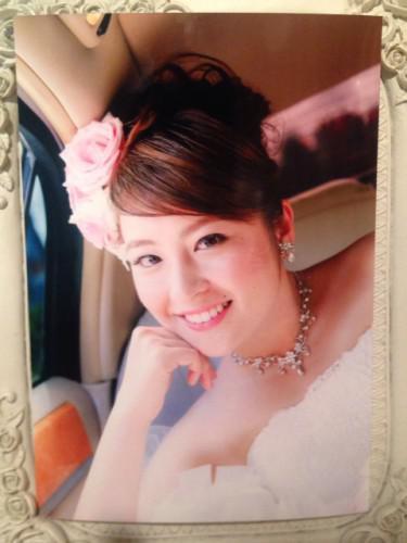 美しいママ花嫁さん
